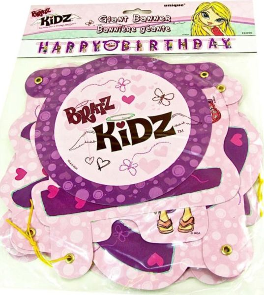 BRATZ - GIANT \'HAPPY BIRTHDAY\' BANNER - Party Decoration