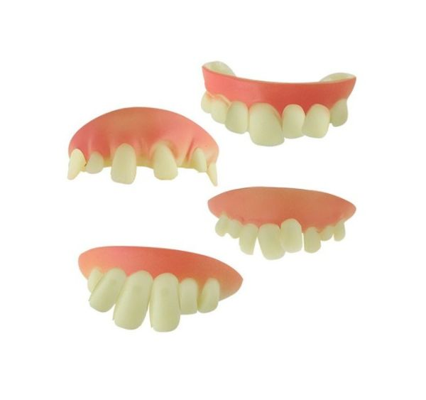 Teeth - Daft Dentures - Funny Fake Teeth / Falske tænder