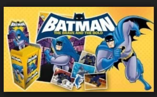 BATMAN - THE BRAVE AND THE BOLD STICKER Booster Pack - 5 Klistermærker