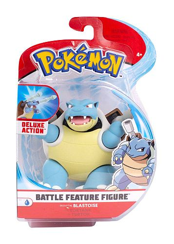 Pokémon: Battle Feature Action Figures - Wave 4: Blastoise - 11cm