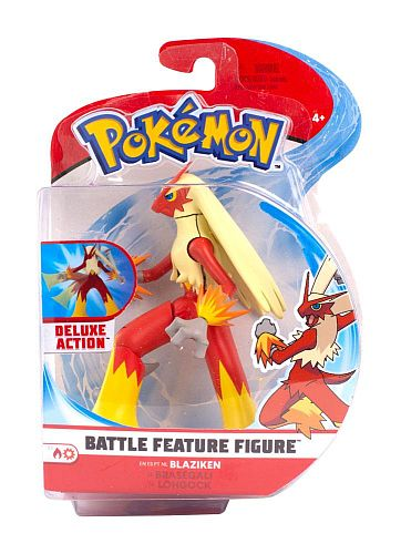Pokémon: Battle Feature Action Figures - Wave 4: Blaziken - 11cm