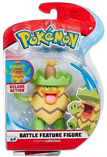 Pokémon: Battle Feature Action Figures - Wave 3: Ludicolo - 12cm