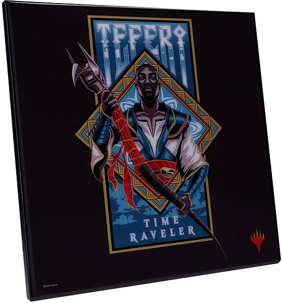 Magic: The Gathering - Crystal Clear Picture - Teferi: Time Raveler 32x32cm