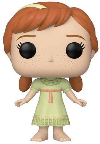 Funko POP: Disney - Frozen II - Young Anna Figur 9cm