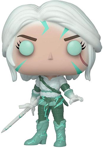 Funko Pop: The Witcher III - Ciri (Glow-in-the-Dark) Figure *Sjælden*
