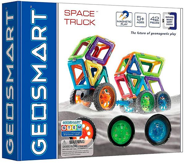 GeoSmart - Space Truck - Magnet Toy