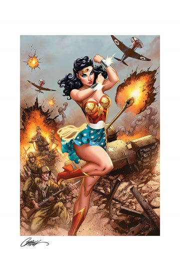 DC Comics - Fine Art Print Wonder Woman #750 - WWII 46 x 61 cm - unframed