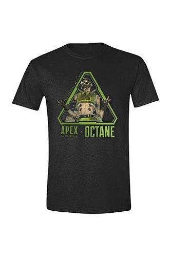 Apex Legends - T-Shirt - Octane Front - Size: Medium (M)