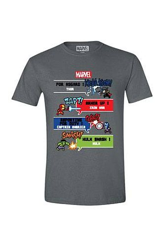 Avengers - T-Shirt - 8 Bit - Size: Medium (M)