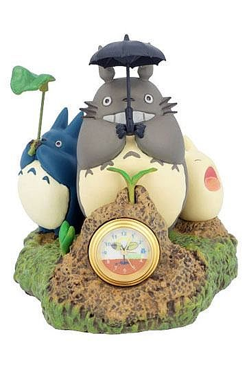 My Neighbor Totoro - Table Clock - Dondoko Dance 10cm