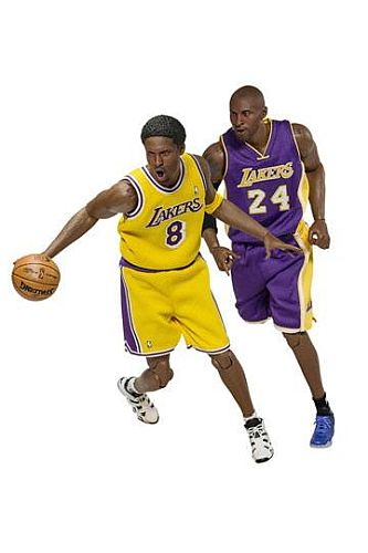 NBA Collection - Real Masterpiece Action figure 1/6 - Kobe Bryant (Upgraded Re-Edition) 30cm