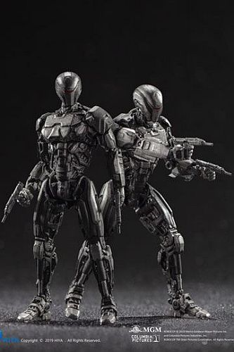 Robocop 2014 - Action Figures 1/18 - OmniCorp EM-208 Enforcement Droids 10cm