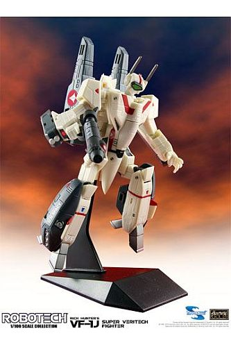 Robotech - Super Veritech Fighter - 1/100 VF-1J Rick Hunter - Collection Action Figure 15cm