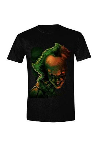 Stephen Kings It 2 - T-Shirt Pennywise Face - Size: Small (S)