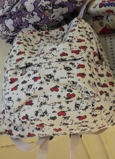 Hello Kitty - White Rygsæk/Backpack 45cm