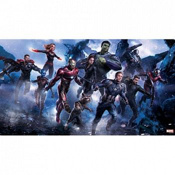 Avengers: Endgame - Marvel Art Gallery 6 Wood Panel 50 x 27,5cm