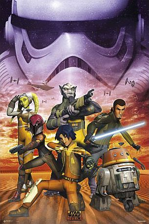 ! Super tilbud Poster/Plakat - #6 Star Wars Rebels Empire - 61x91,5 cm