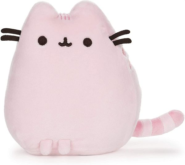 Pusheen the Cat - Squisheen (Sitting) Pink - Bamse/Plush 15cm