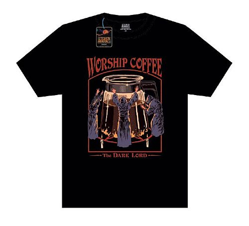 "Steven Rhodes - T-Shirt - ""Worship Coffee"" - Size: X-Large (XL)"